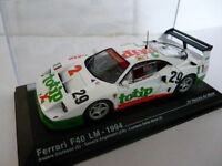 coche 1/43 IXO altaya 24 horas le Mans FERRARI F40 LM TOTIP