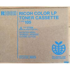 Ricoh Toner Type 105 CYAN CIANO Aficio AP 3800 3850 CL 7000 7100 ORIGINALE NUOVO