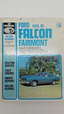 Gregorys SP No 160 Ford Falcon Fairmont 6 Cylinder XC 1976 DIY Workshop Manual