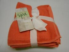 New lot Supreme Spa 8 pack microfiber washcloths Rose & Avacado