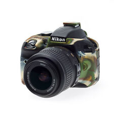 easyCover Nikon D3300 / D3400  EA-ECND3300C CAMO Silicone Camera Case