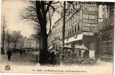 CPA Caen - Le Marche aux Fleurs (272137)
