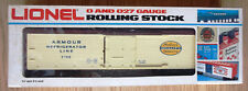 RARE NEW LIONEL ARMOUR BILLBOARD REEFER BOX CAR #6 5708   O/027