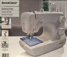 SilverCrest SNM 33 Stichfunktionen Nähmaschine LED Nählicht Einfädelhilfe NEU