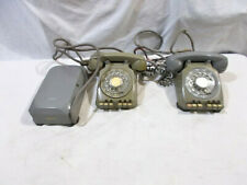Two (2) Stromberg Carlson Office Telephones - One with Junction Box