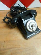 ANCIEN TELEPHONE BAKELITE NOIR 1963 POUR DECO COLLECTION