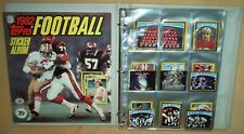 1982 Topps Football Stickers - COMPLETE 289 card set + UNUSED Album + Wrapper