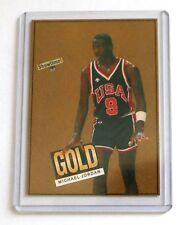 Michael Jordan 1984 Showtime Gold Rookie Olympic USA Mint Rare Basketball Card
