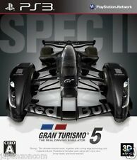 Used PS3 Gran Turismo 5 V Spec II PLAYSTATION 3 SONY JAPAN JAPANESE IMPORT