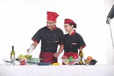 6-Color Men Women Chef Short Coats Cook Clothes Food pastry Uniform t-shirt new