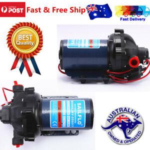 DC 12V 60PSI Water High Pressure Diaphragm Pump Self Priming Automatic Switch