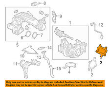 HONDA OEM 16-17 Civic Turbo Turbocharger-Gasket 1823359B004