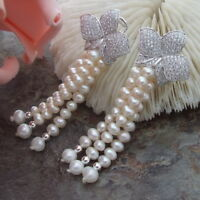 AB010613 26MM White Coin Pearl Earrings 925 Silver Stud