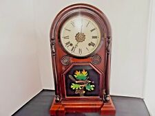 Antique E.N. Welch, Spring & Co. Kitchen/Parlor Clock with Alarm (Needs TLC)