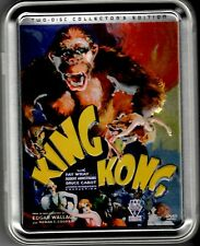 King Kong 2-Disc Collector's Edition Tin DVD w/ All Inserts Pre-owned