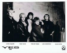 "Yes UK Original Radar Promo Photo  10"" x  8"""