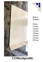 Ortgangbrettverkleidung Blende Verkleidungsblech Ortgang Dachrand Winkel 1m+1,5m
