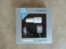 Blueflame Dual Car Charger, Ipod, iphone, ipad  Charge 2 devices 2.1 amp