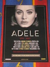Adele - 2017 Australian Tour - Laminated Promo Tour Poster - Ready To Frame