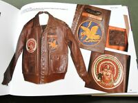 """""""SILVER WINGS & LEATHER JACKETS"""" US AAF WW2 PILOT PAINTED A-2 REFERENCE BOOK"""