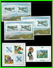 BHUTAN: 1967 airplanes; 1972 scouts; 1972 Poodle souvenir sheets (one price)