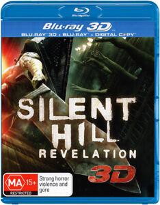 SILENT HIL: REVELATION (3D Blu-ray +Blu-ray + Digital Copy) NEW+SEALED