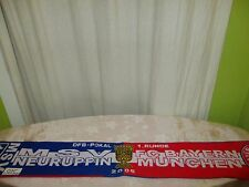 "MSV Neuruppin/FC Bayern München Original Fan Schal ""DFB POKAL 1.RUNDE 2005"" TOP"