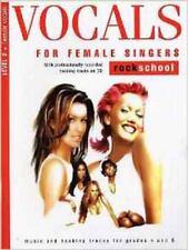 Rockschool Vocals For Female Singers - Level 2, New,  Book