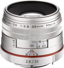 PENTAX standard single-focus macro lens HD PENTAX-DA 35 mm F 2.8 silver F/S