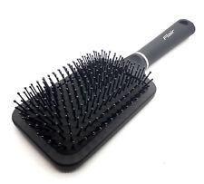 Flair Hair Brush Soft Round Rubberised Handle Large Paddle Brush Ball Ended
