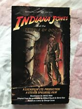 INDIANA JONES AND THE TEMPLE OF DOOM PAPERBACK BOOK MOVIE NOVELIZATION 1984