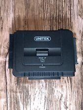 UNITEK USB 3.0 to IDE & SATA Universal Converter External Hard Drive Adapter