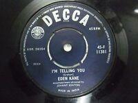 "EDEN KANE 45 F 11381 RARE SINGLE 7"" INDIA INDIAN 45 rpm VG+"