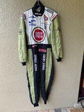 JACQUES VILLENEUVE 2000 BAR LUCKY STRIKE F-1 RACE WORN/USED SPARCO,DRIVERS SUIT