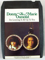 "Donny & Marie Osmond ""I'm Leaving It All Up To You"" 1974 MGM 8-Track Tape Tested"