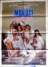 manifesto movie poster 2F MANIACI SENTIMENTALI SIMONA IZZO TOGNAZZI CINEMA