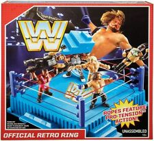 WWE Retro Ring Playset Mattel Toy Wrestling Action Figure Playset