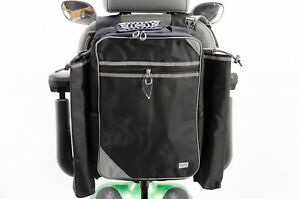 MyWren Mobility Scooter Seat Bag with Crutch / Walking Stick Holder - Better ...
