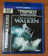 The Prophecy 5-Film Collection (Blu-ray, 2-Disc) Christopher Walken - No Digital