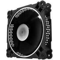 [JONSBO] FR-201 Hexagon Side Pattern With White LED Case Fan, 120mm, PWM, 4pin
