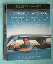 GREEN BOOK, GODS OF EGYPT, GLADIATOR, GLASS  4K Blu ray slipcover