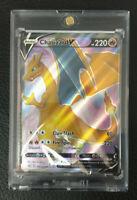 Pokemon Charizard V Full Art SWSH050 Promo Champion's Path With Protective Case