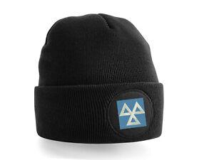 MOT Garage Mechanic Embroidered Patch Beanie Hat -