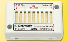 Viessmann 5216 Resistencia de conducción lenta #nuevo en emb. orig.#