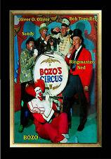 MAGNET Television Bozos Circus WGN Chicago Ringmaster Ned Oliver O Oliver Sandy