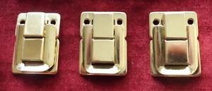 Leather Cue Case Catches, Clips, Clasps, Fasteners. Sold in Packs of 3 only