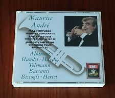 MAURICE ANDRE' PLAYS - TRUMPET CONCERTOS - 3 CD