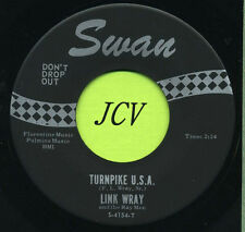 LINK WRAY Turnpike U.S.A. / Week End    ROCK 45 RPM  RECORD