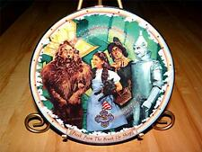 Fresh From The Brush Up Shop ENCHANTED CHARMS OF OZ Wizard of Oz PLATE