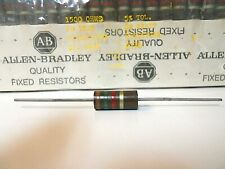 Allen-Bradley 1.5K 1500 Ohms 2 Watt 5% RC42GF152J Carbon Comp Resistor - NOS (1)